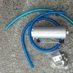 スバルサンバー オイルキャッチタンク取り付け LLC交換